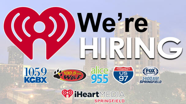 Looking for an exciting career? Apply now to be a part of the iHeartRadio Springfield family!
