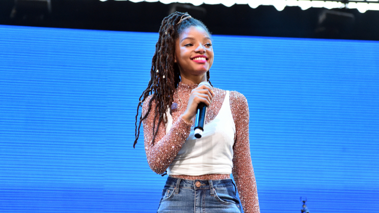 And Cut: Halle Bailey Explains Why Filming 'The Little Mermaid' Was So Tough   BIN: Black Information Network