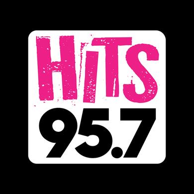 HITS 95.7 logo