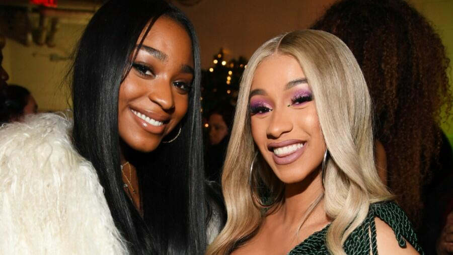 Normani & Cardi B Take It Off For Steamy Cover Art For 'Wild Side' Collab