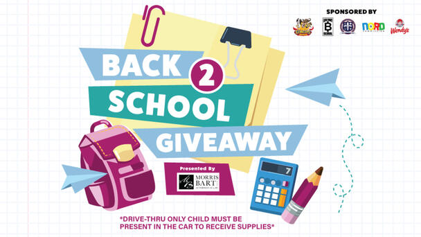 Back to School Giveaway in partnership with NORD presented by Morris Bart