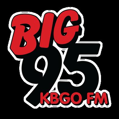 BIG 95 KBGO logo