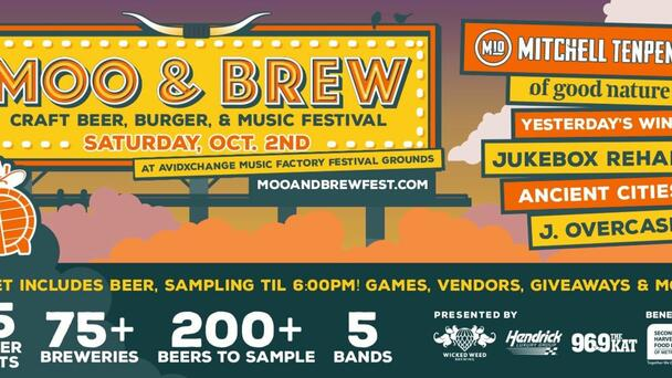 Win Moo and Brew Festival VIP Tickets and Hotel Stay!