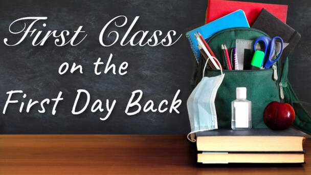 Celebrate The First Day Back to School