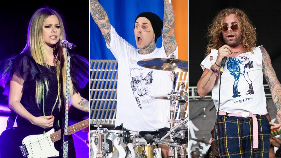 Avril Lavigne, Travis Barker & More Set For Emo Nite Vegas Vacation