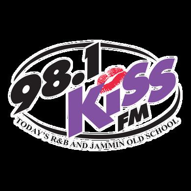 98.1 Kiss FM Albany, Georgia logo