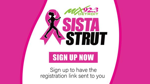 Sign up to be notified about Sista Strut