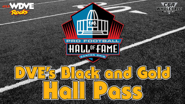 The best way to kick off the Steelers 2021 season is with DVE's Black And Gold Hall Pass.