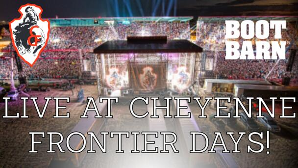 Join us LIVE at the 125th Cheyenne Frontier Days!