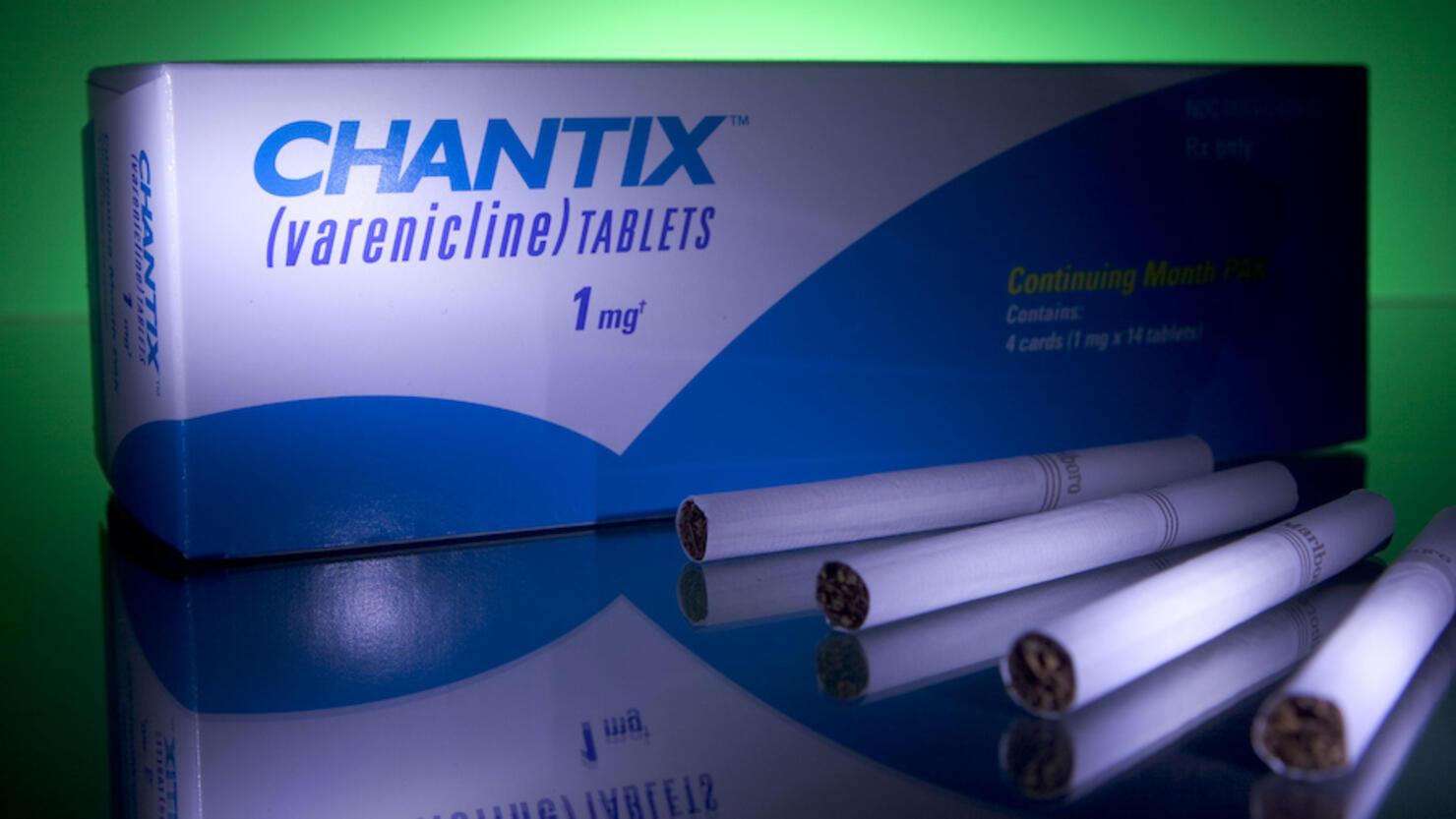 Smoking cessation drug Chantix is arranged at Skenderian Apo