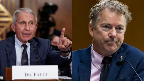 Dr. Fauci And Rand Paul Face Off Over COVID-19, Again