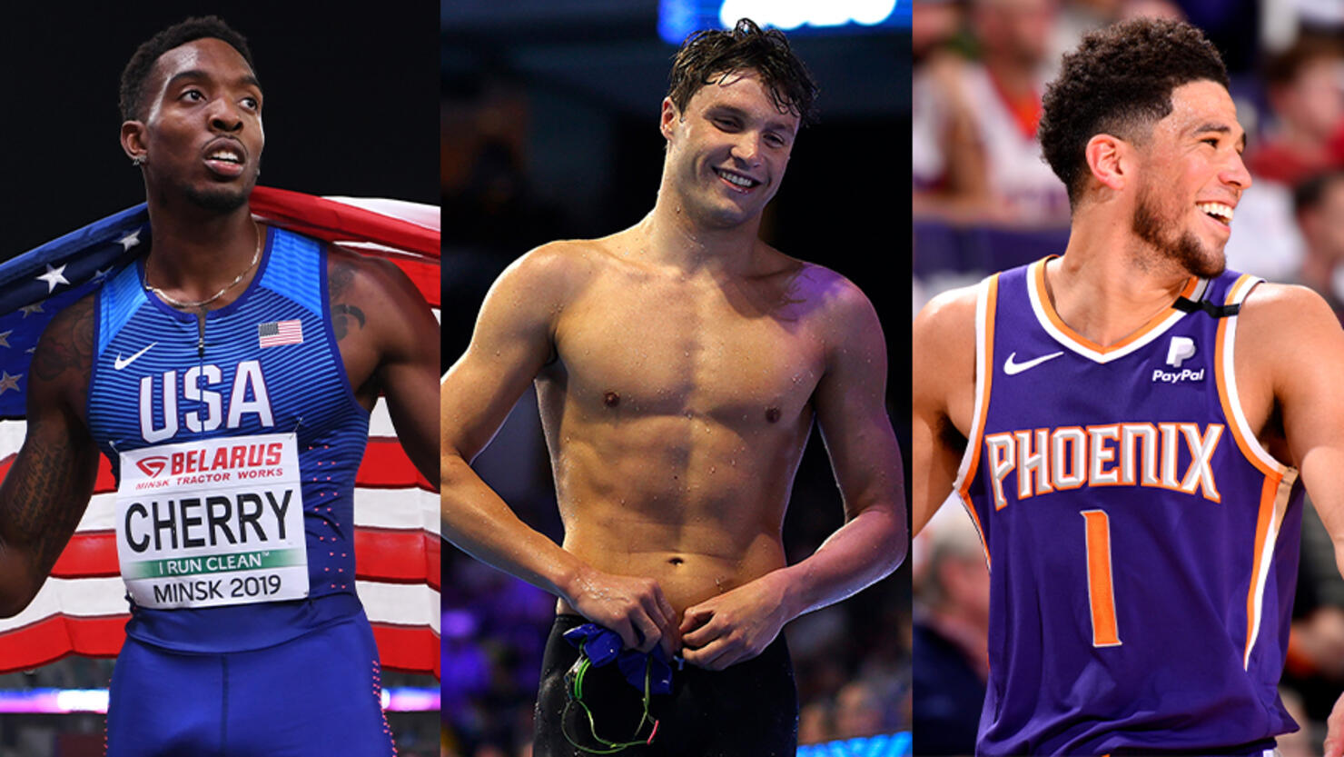 Athletes hottest 'Didn't realise