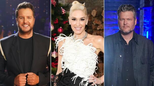 Luke Bryan Has 'Embarrassing' Wedding Gift For Gwen Stefani & Blake Shelton