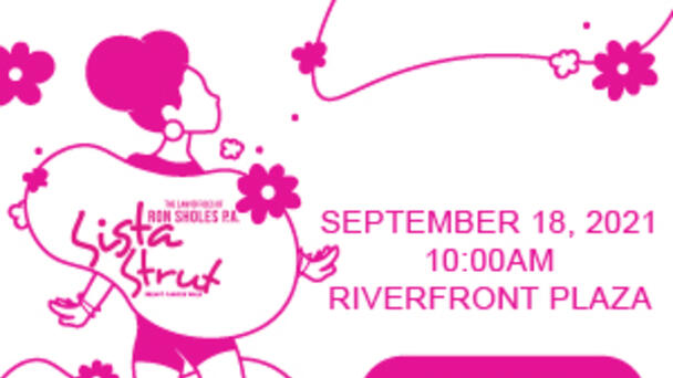The Law Offices Of Ron Sholes Sista Strut Breast Cancer Walk 3K Register NOW!