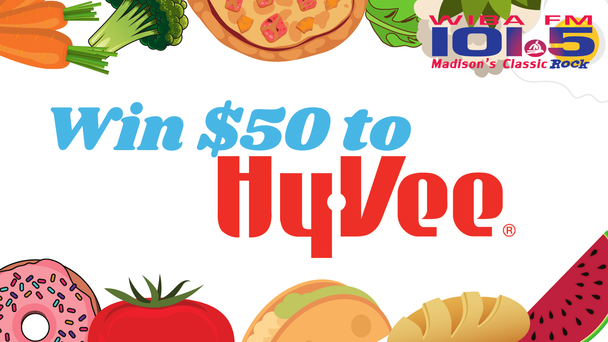 Listen to Win a $50 Gift Card to Hy-Vee!