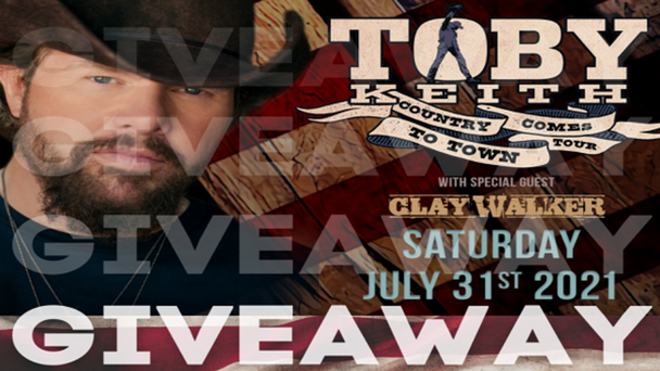 Win Pit Passes To Toby Keith at Tag's!