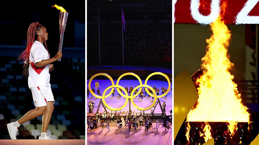 Tokyo 2021 Olympics Opening Ceremony Highlights & History-Making Moments