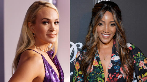 Mickey Guyton Shares The Special Gift Carrie Underwood Gave Her Son