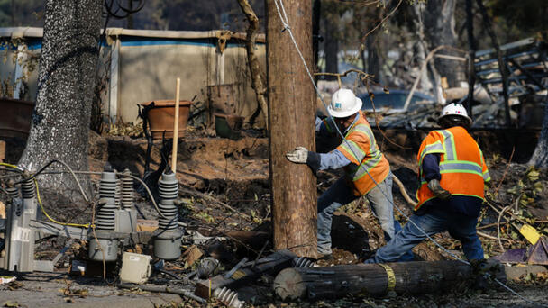 How PG&E Is Attempting To Prevent Wildfires In California