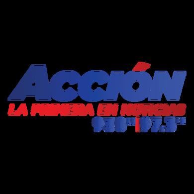 Accion 97.3 logo