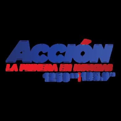 Accion 1250 & 105.9 logo