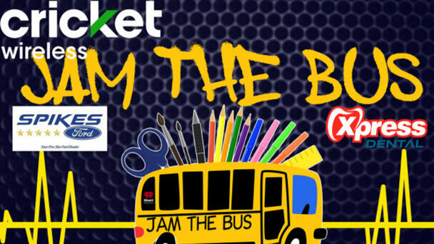 Jam the Bus with Cricket and iHeartRadio