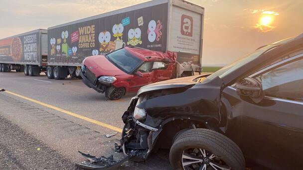 At Least Seven Dead After Sandstorm Causes 20-Vehicle Crash In Utah