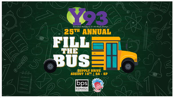 Y93's 25th Annual Fill The Bus