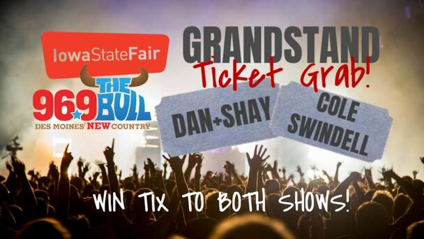 Iowa State Fair Grandstand Ticket Grab