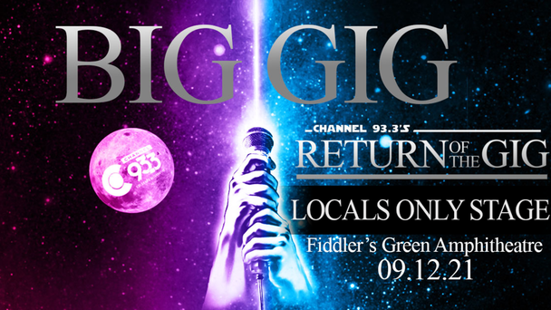 Locals Only Stage at Big Gig - Submit Now!