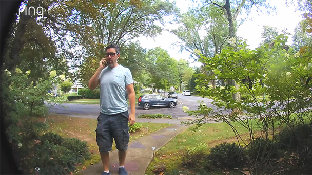 Man Caught On Doorbell Cam Insulting Girlfriend's Dad, Instantly Regrets It