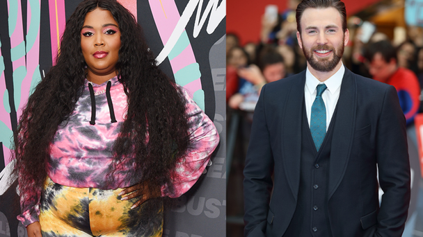 Lizzo Jokes She & Chris Evans Are Having A Baby: 'The Secret Is Out'