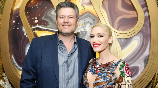 Blake Shelton Introduces New Wife 'Gwen Stefani Shelton' At CMA Summer Jam