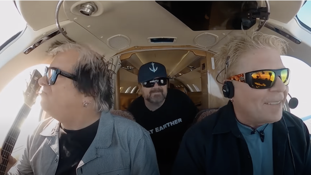 The Offspring Take To The Skies In New Video Series, 'Cockpit Karaoke'