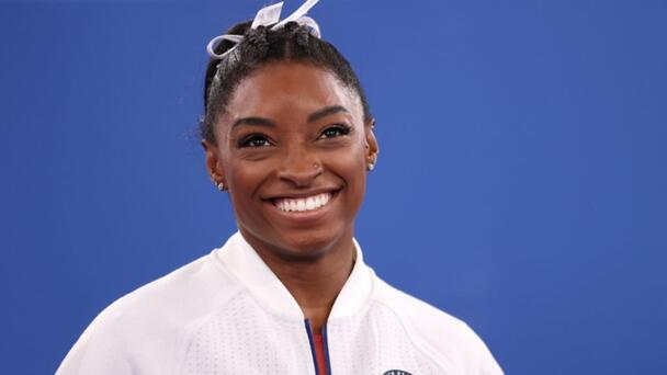 Simone Biles Thanks Fans After Exiting Olympic Events