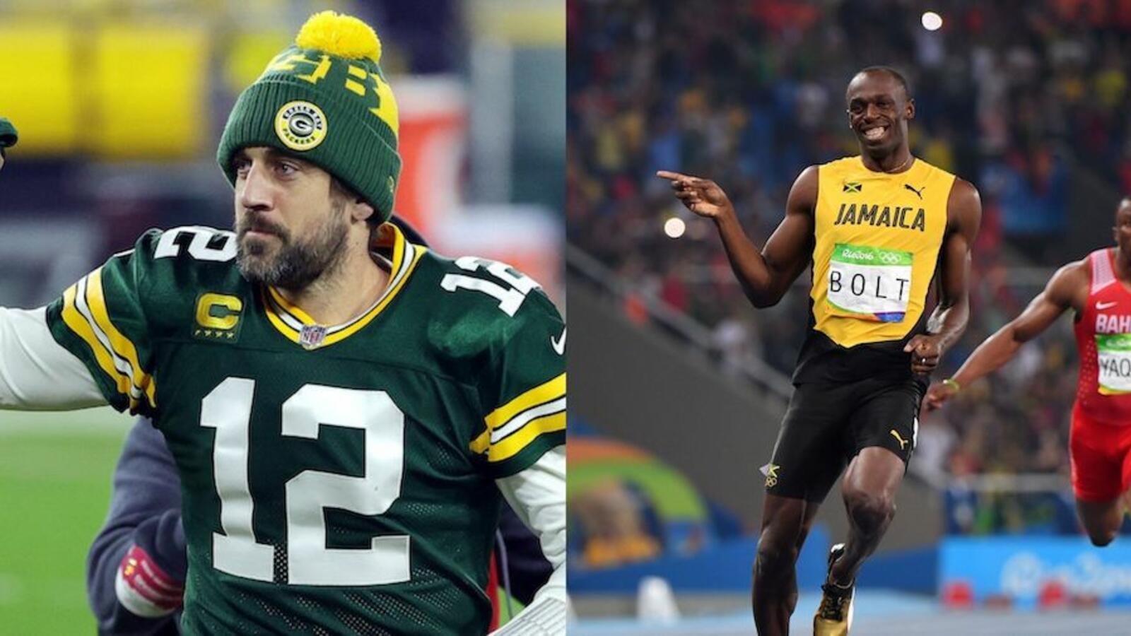 WATCH: Usain Bolt Explains Packers Fandom, Responds To Rodgers' Return