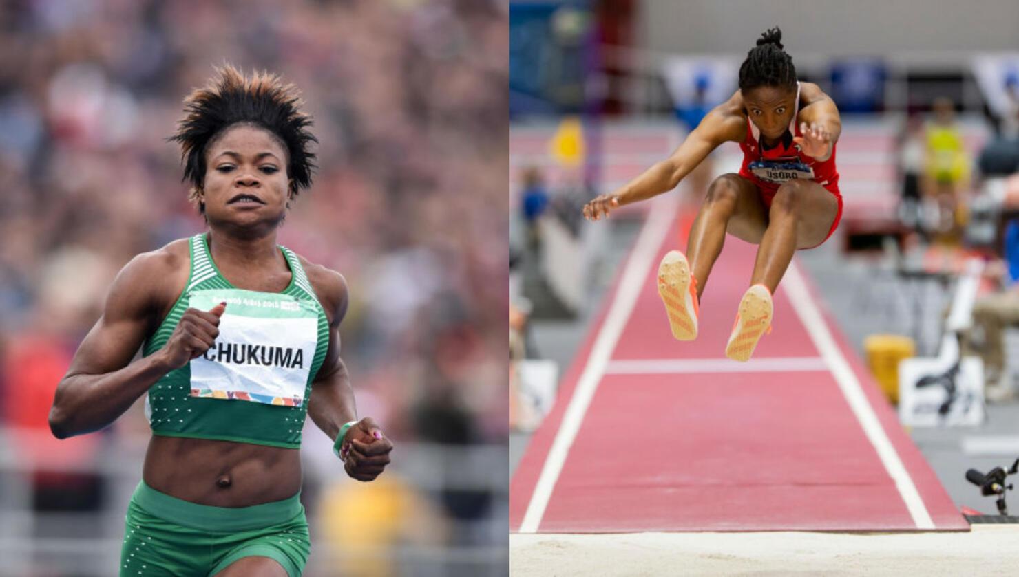 Rosemary Chukwuma and Ruth Usoro