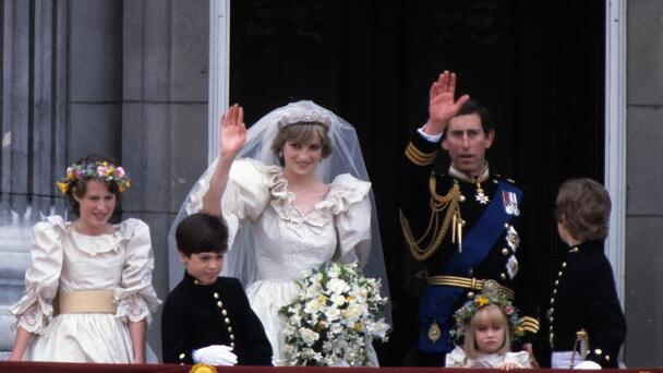 A Slice Of Princess Diana's Wedding Cake From 1981 Is Up For Auction