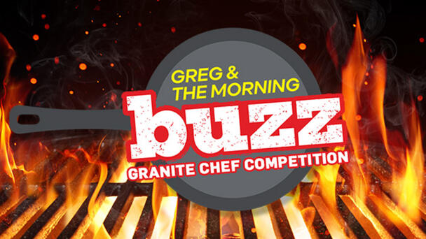 Pick a Buzz member to cook with at Granite Chef!
