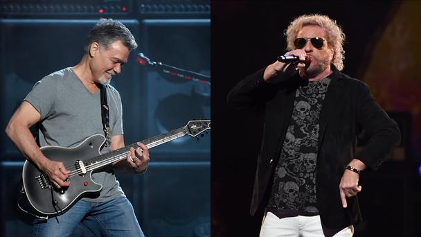 Eddie Van Halen Was Eager To Be Friends, Play Music Again With Sammy Hagar