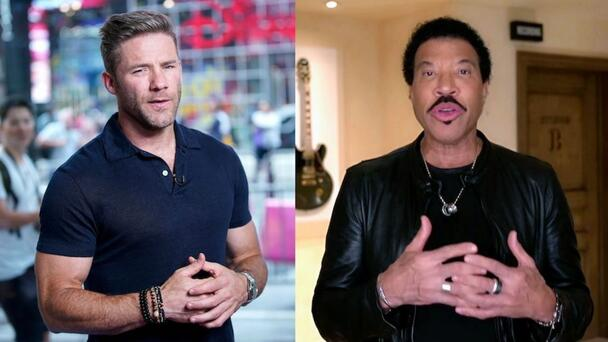 PHOTO: Julian Edelman Sings With Lionel Richie At Kraft Birthday Party