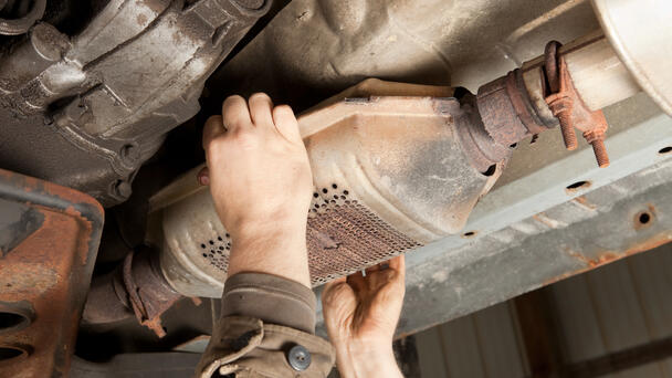Texas Ranked 2nd For Most Catalytic Converter Thefts
