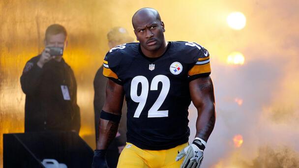 Steelers Legend James Harrison Lands Big Role In New Starz Show