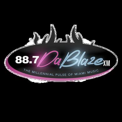 DA BLAZE 88.7 XM logo