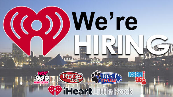 Looking for an exciting career? Apply now to be a part of the iHeartRadio Little Rock family!
