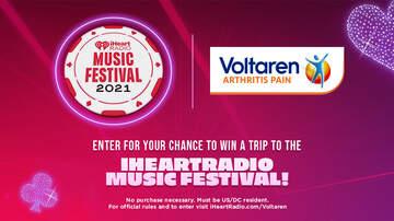 image for Voltaren's iHeartRadio Music Festival Flyaway Sweepstakes
