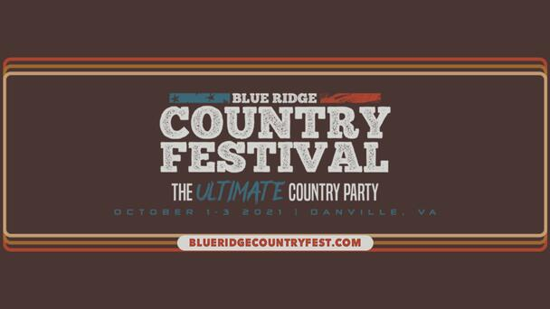 Check Out Who's Playing at the Blue Ridge Country Festival, Oct. 1-3! Click Here