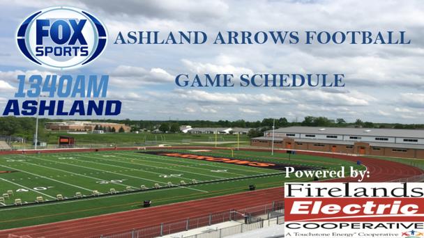 Ashland High School Football Game Schedule