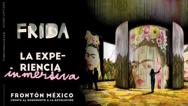 Mix invita: Frida, la experiencia inmersiva