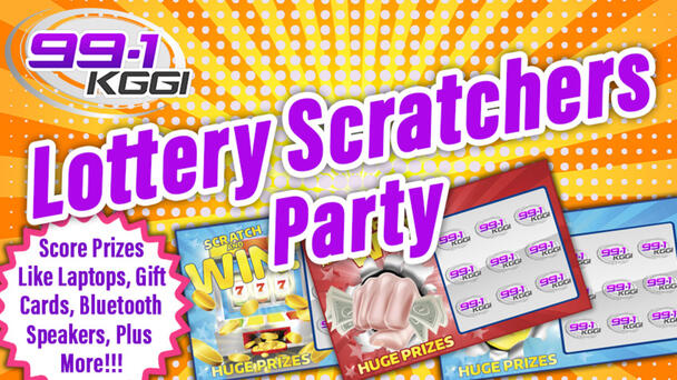 Win an Invite To Our Lottery Scratchers Party!